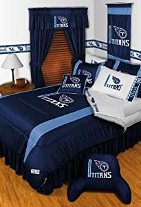 TENNESSEE TITANS QUEEN 5 PIECE BEDDING SET Boy Football NFL bag by Dream Time Kids Bedding