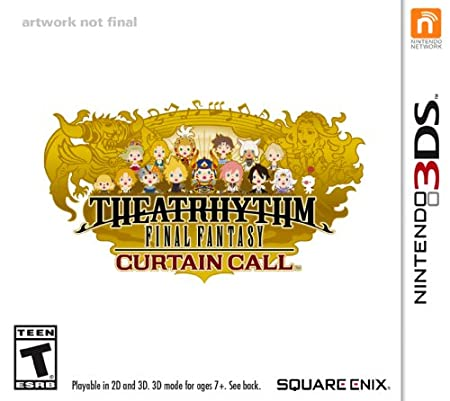 Theatrhythm Final Fantasy Curtain Call - Nintendo 3DS
