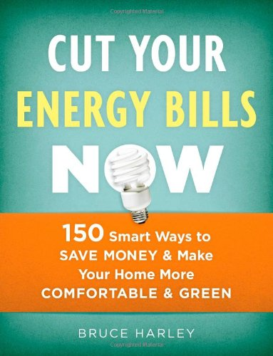 Cut Your Energy Bills Now: 150 Smart Ways To Save Money and Make Your Home More Comfortable and Green