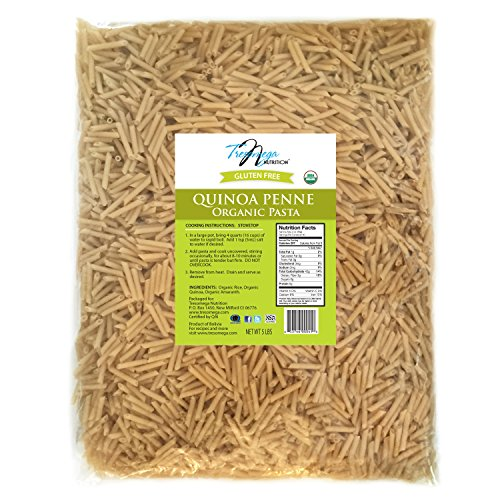 Tresomega Nutrition Organic Quinoa Penne, 5-Pound (Adult Pasta compare prices)