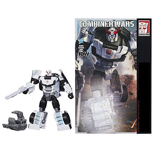 Generations Combiner Wars Deluxe Class Prowl Figure Autobot Military Strategist Brand New