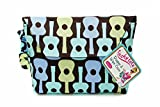 Sister Chic Tushy Tote Diaper and Wipes Case, Boy Guitar