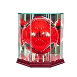 Football Glass Display Case