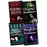 Keri Arthur Nikki and Michael Vampire Novel 4 Books Collection Pack Set RRP: �27.96 (Chasing the Shadows, Dancing with the Devil , Kiss the Night Goodbye, Hearts in Darkness)by Keri Arthur