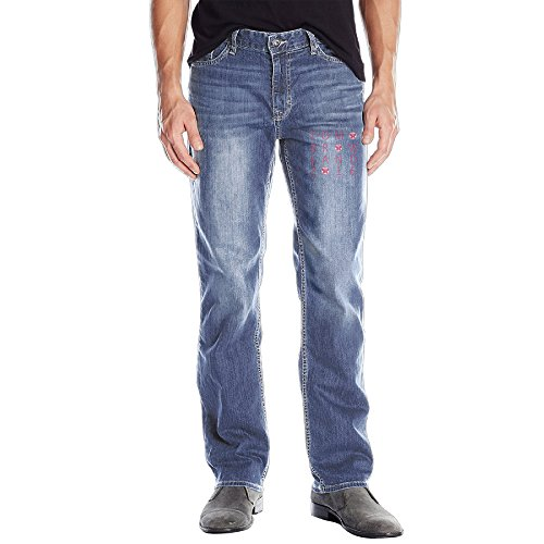 Men's Tomorrow Music Day Straight-Fit Jean
