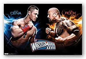 (22x34) WWE WrestleMania XXVIII Official Sports Poster Print