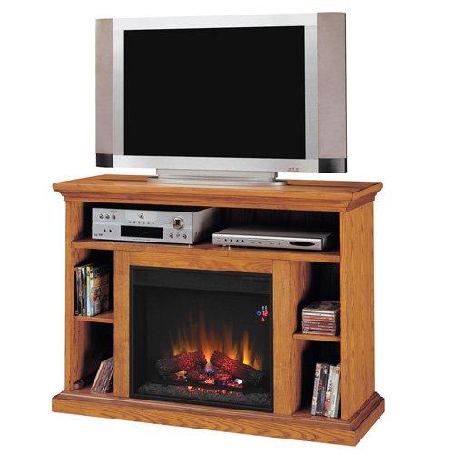 "23"" Beverly Media Fireplace, Premium Oak"