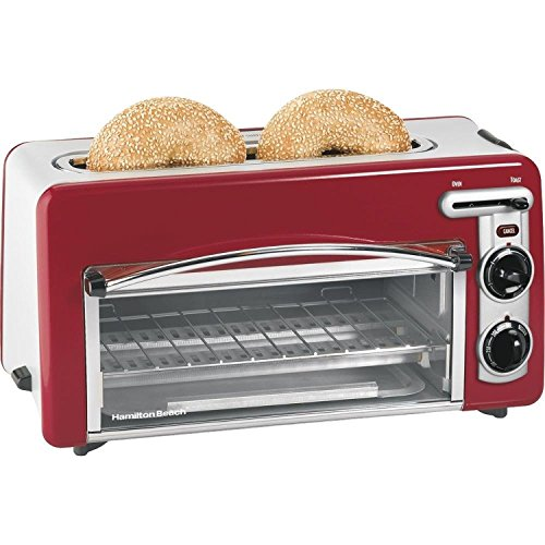 Hamilton Beach 22703 Ensemble Toastation Toaster Oven Red (2 In One Toaster Oven compare prices)