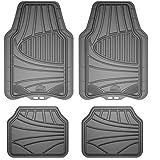 Armor All 78841 4-Piece Grey All Season Rubber Floor Mat