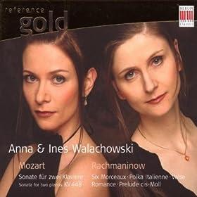Sonata for two Pianos in D Major, K. 448: III. Molto allegro