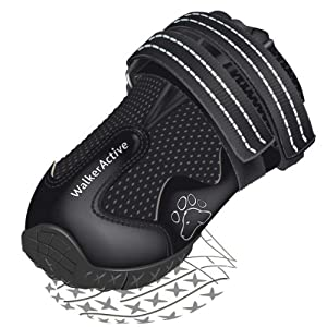 Walker Active Protective boots, Black, L-XL, 2 pcs