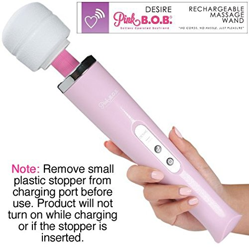 Rechargeable Cordless Body Magic Wand Vibrator Massager - Wireless - Therapeutic - 30 Day No-risk Money-back Guarantee