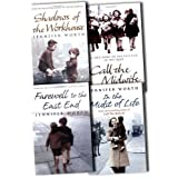 Jennifer Worth Collection 4 Books Set Pack RRP: �31.96 (Farewell To The East End: The Last Days of the East End Midwives, Call The Midwife: A True Story Of The East End In The 1950s, Shadows Of The Workhouse: The Drama Of Life In Postwar London, In the Midst of Life)by Jennifer Worth