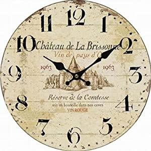 Kitchen Wall Clock French Chateau De La Brissonne Kitchen Home
