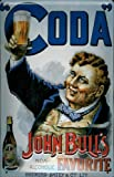Coda non alcoholic Beer Tin Sign Sheet Metal Tin Metal Sign 20 x 30 CM