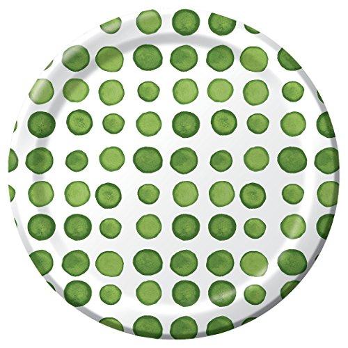 creative-converting-8-count-dotted-verdi-round-premium-paper-luncheon-plates-green-white-8