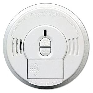 Kidde Products - Kidde - Front-Load Smoke Alarm w/Mounting Bracket, Hush Feature - Sold As 1 Each - Safeguards family members and co-workers as well as your property. - Front-loading battery door means you can change batteries without removing alarm from mounting bracket. - Door won't close unless battery is properly installed. - Tamper-resistant locking feature alleviates concerns about theft and tampering. - Allows you to silence nuisance alarms.