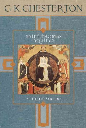 Saint Thomas Aquinas/the Dumb Ox