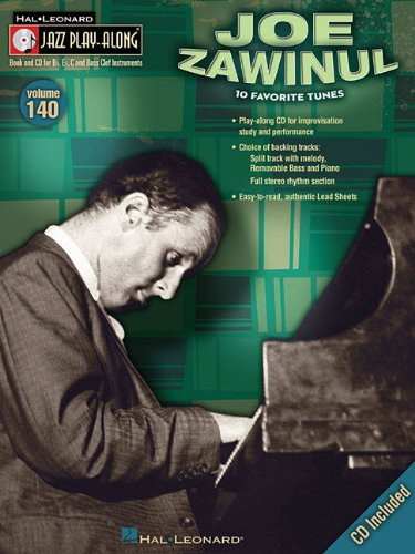 Jazz Play Along Vol.140 Joe Zawinul Bb, Eb, C Inst. CD