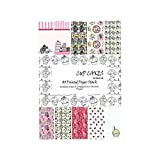 Shopaholic A5 SizeCup Cakes Craft Papers- 10 Designs 30 Sheets For Card And Scrapbooking - CCSA5+30 (Set Of 2)