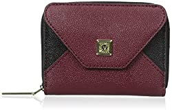 Anne Klein Time To Indulge Credit Card Holder, Bordeaux, One Size