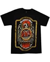 Slayer Men's Bier Label T-shirt Black