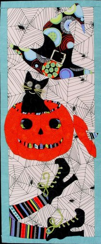Artsi2 A2EVHALL Everything Halloween Wall Hanging Kit