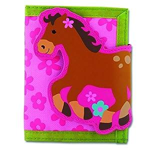 Stephen Joseph Girl Horse Wallet