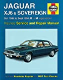 Haynes Garage Quality Car Repair Manual/Book For Jaguar XJ6 & Sovereign (Oct 86 - Sept 94) D to M Including a De-Mister Pad and 1 Car Air Freshner.