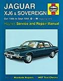 Haynes Garage Quality Car Repair Manual/Book For Jaguar XJ6 & Sovereign (Oct 86 - Sept 94) D to M Including a De-Mister Pad and 1 Car Air Freshner.