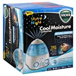 Vicks Humidifier, Cool Moisture, Starry Night
