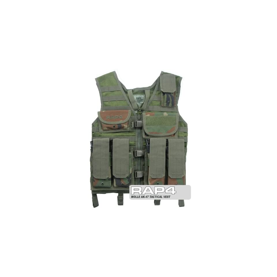 AK 47 Tactical Vest   paintball chest protector