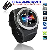 Unlocked! GSM Touch Screen Watch Phone w/ Free Bluetooth Headset [aT&T / T-Mobile]