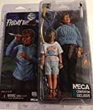 """NECA Friday the 13th Pamela Voorhees & Young Jason Exclusive 8"""" Clothed Action Figure"""