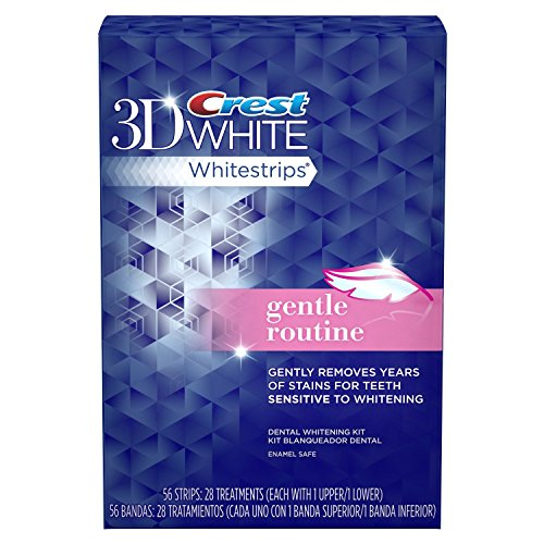 Crest 3D White Strips Gentle
