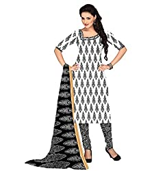 The Ethnic Chic Off White Colored Cotton Suit.