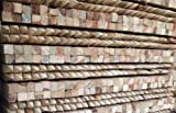 1.5m (5ft) Garden stakes (50 pack) 32x32mm square sawn tanalised wooden tree posts