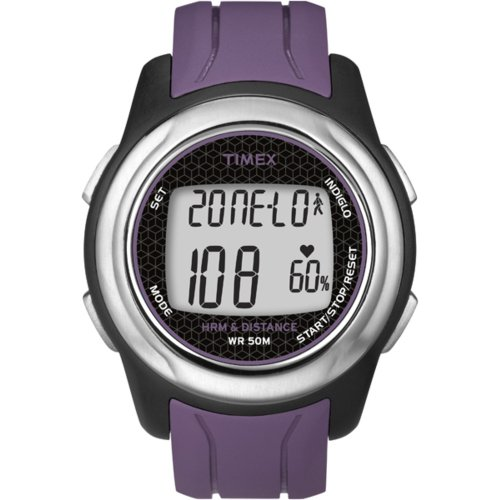 Cheap Timex Full-Size T5K561 Health Touch Plus Heart Rate Monitor Watch (T5K561F5)