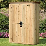 Suncast Wood/Resin Vertical Shed