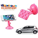 ECellStreet TM 360° Degree Rotating Multi-function Stand Bracket Mounts Placing Plate Suction Cup Sucker Hyundai...