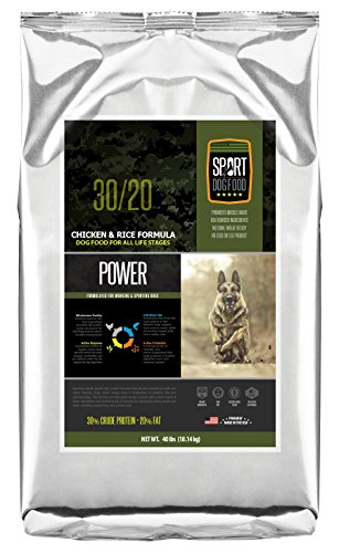 SportDogFood Canine Athlete Dog Food, Power Blend 30/20, 40-Pound