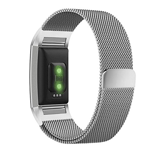fitbit-charge-2-band-umtele-milanese-loop-stainless-steel-metal-bracelet-strap-with-unique-magnet-lo