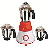 Speedway 600 Watts MG16-42 Red And White 3 Jars Mixer Grinder Direct Factory Outlet