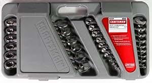 Craftsman Wrench Set, Combo Metric, 26 Pc, w/Case
