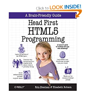 Dive Head First into HTML5 Programming Image