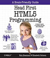 Head First HTML5 Programming: Building Web Apps with JavaScript Front Cover