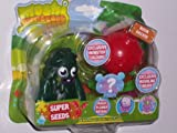 Moshi Monsters Super Seeds - Green Furi and Red Moon Orchid