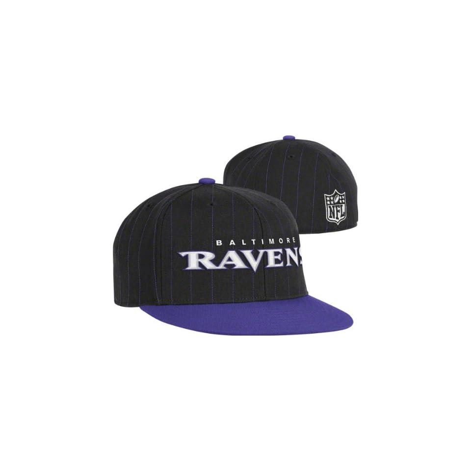 c16457d5be0 Baltimore Ravens Flex Hat Pinstripe Flat Brim Flex Hat on PopScreen