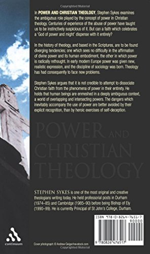 Power and Christian Theology (New Century Theology)