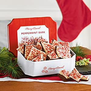 Peppermint Bark Gift Tin - Gift Baskets & Fruit Baskets - Harry and David